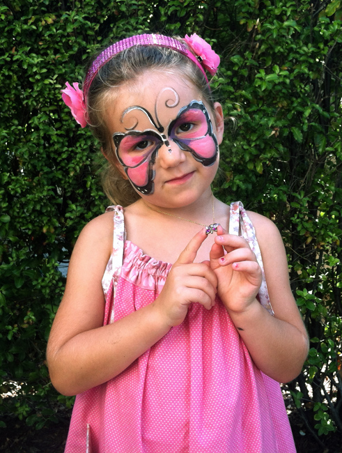 Butterfly Face Painting …